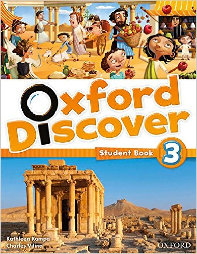 Bìa sách Oxford Discover 3: Student Book - Paperback