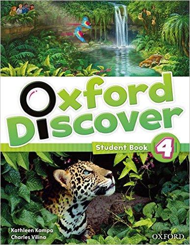 Bìa sách Oxford Discover 4: Student Book - Paperback
