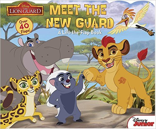 Bìa sách The Lion Guard, Meet the New Guard