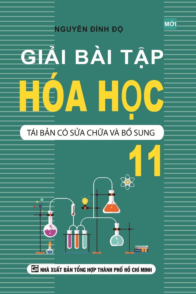 Bìa sách Giải Bài Tập Hóa Học 11 (Tái Bản)