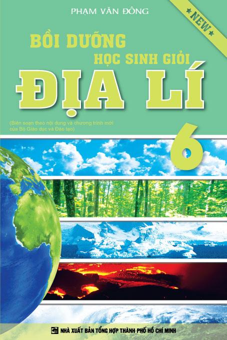 Bìa sách Bồi Dưỡng Học Sinh Giỏi Địa Lí 6 (Tái Bản)