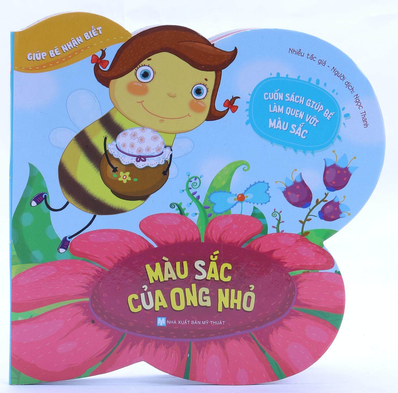 Bìa sách Giúp Bé Nhận Biết - Màu Sắc Của Ong Nhỏ