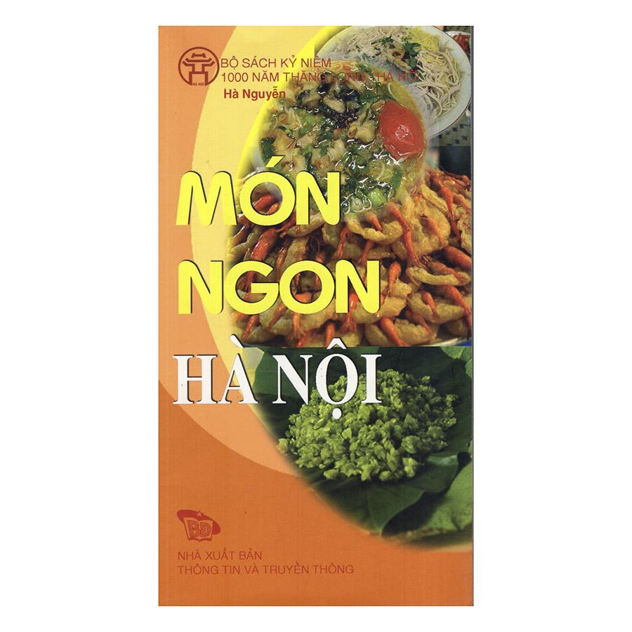Bìa sách Món Ngon Hà Nội - Hanoi Delicious Dishes (Bộ Sách Song Ngữ)