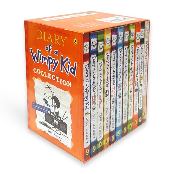 Bìa sách Wimpy Kid 11 Slipcase: Diary Of A Wimpy Kid
