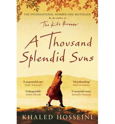 Bìa sách A Thousand Splendid Suns