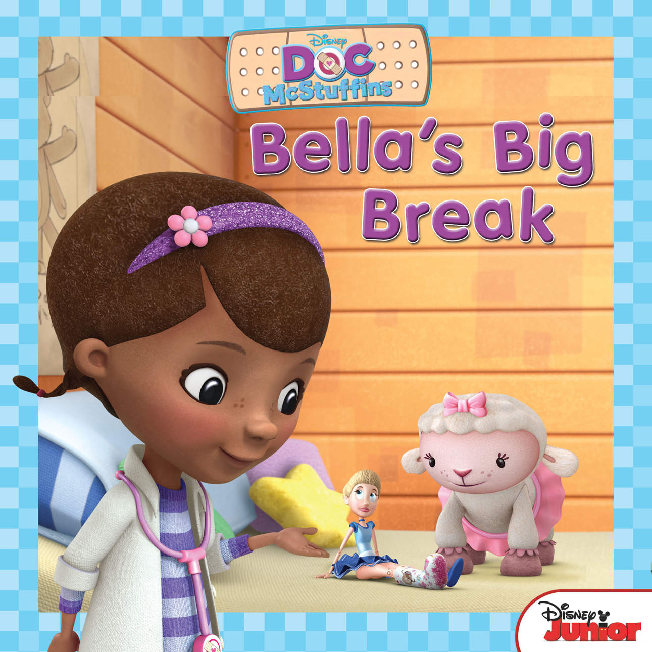 Bìa sách Doc McStuffins Awesome Guy To The Rescue! / Bella