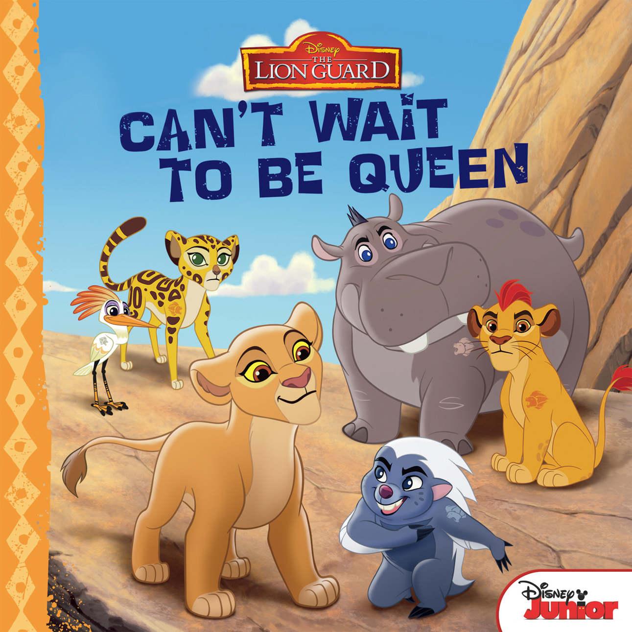 Bìa sách The Lion Guard Can
