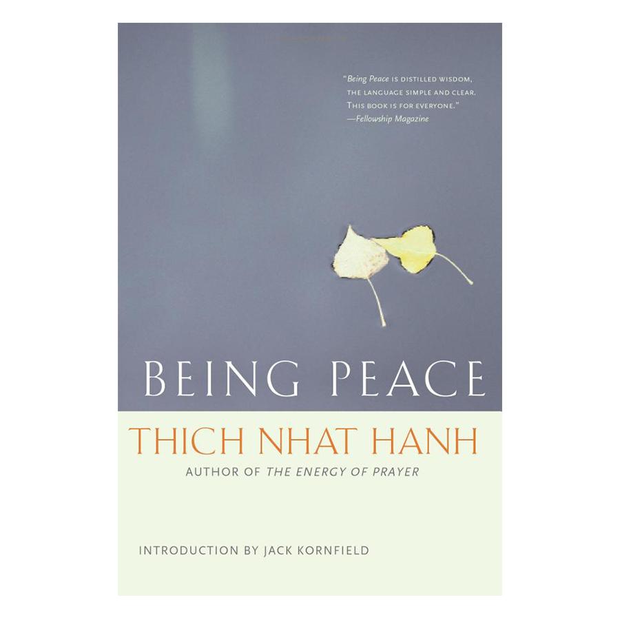 Bìa sách Being Peace
