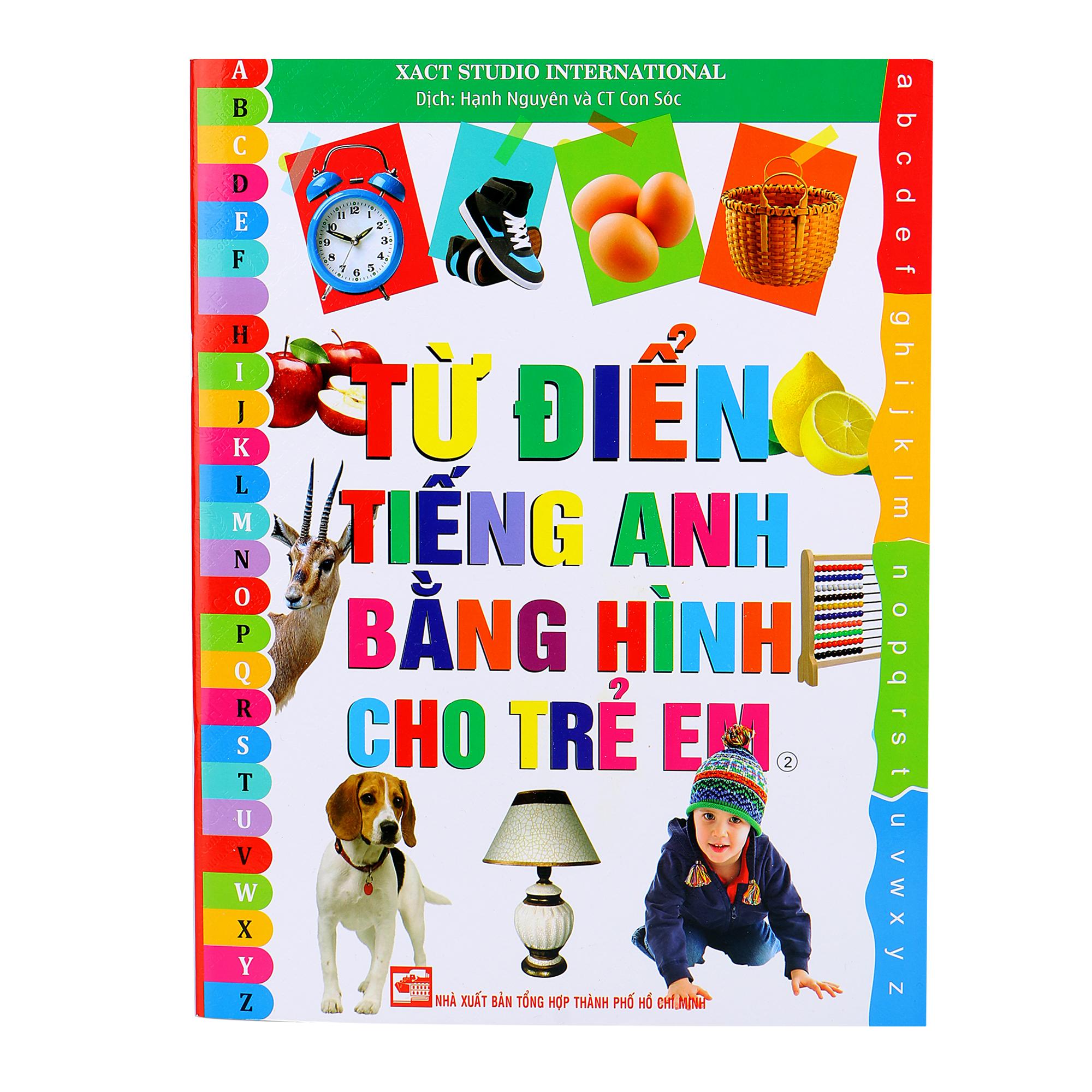 Từ Điển Tiếng Anh Bằng Hình Cho Trẻ Em (Tập 2)