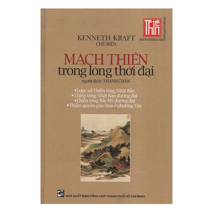 Bìa sách Mạch Thiền Trong Lòng Thời Đại