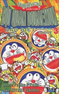 Bìa sách Đội Quân Doraemon Đặc Biệt - Trường Học Robot (Tập 3)