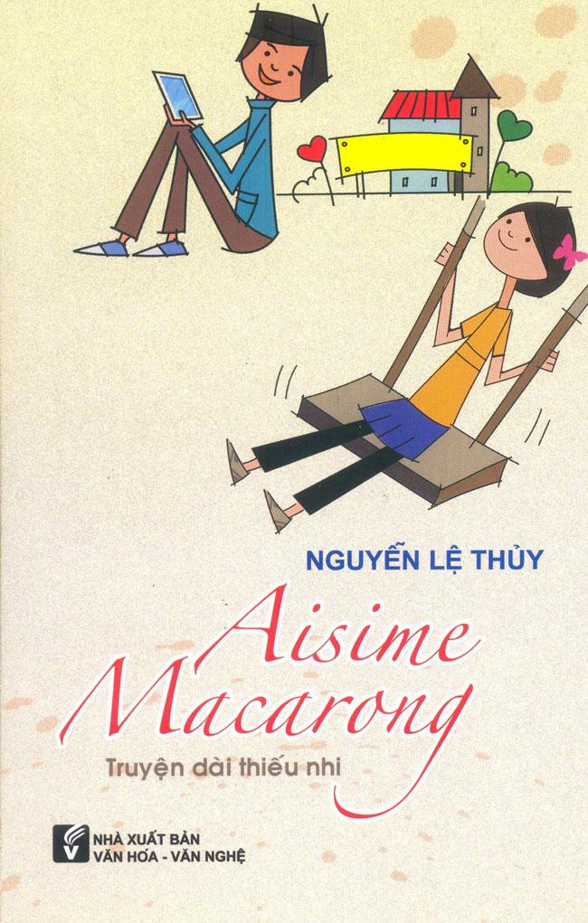 Bìa sách Aisime Macarong