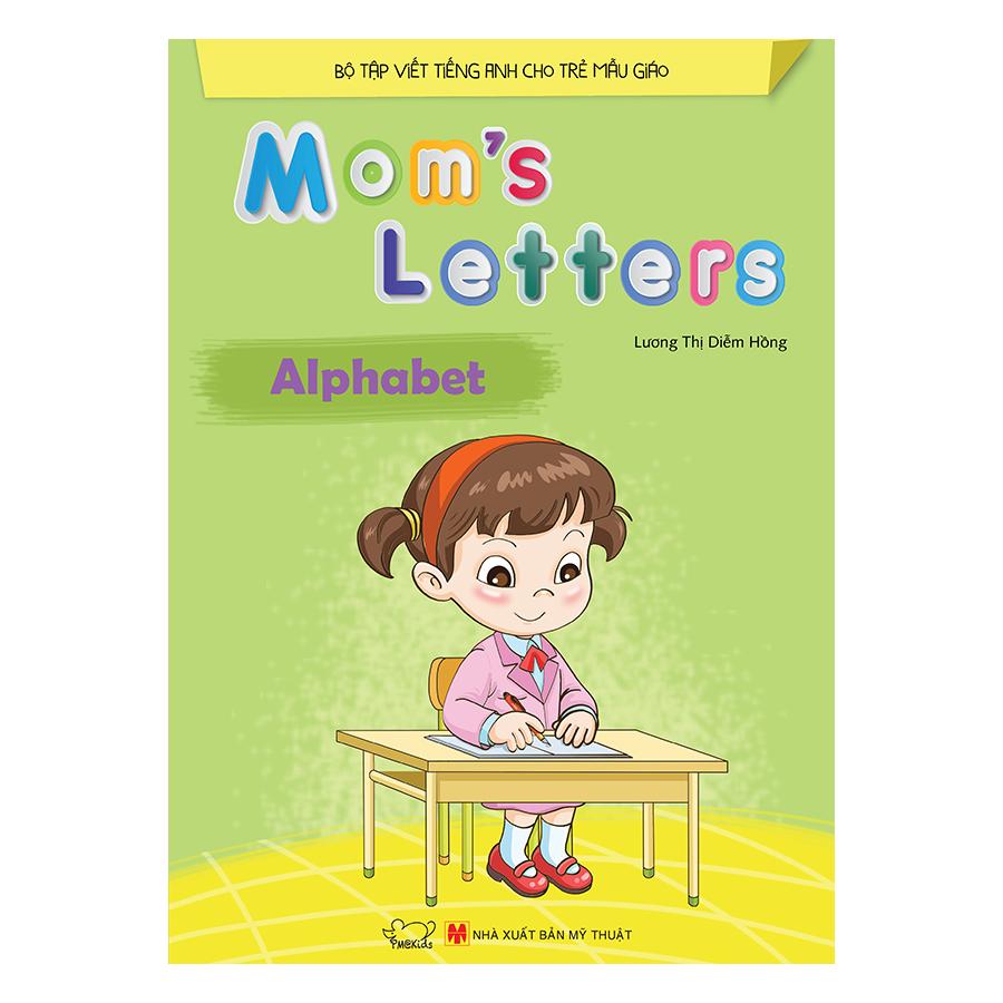 Bìa sách Moms Letters: Alphabet