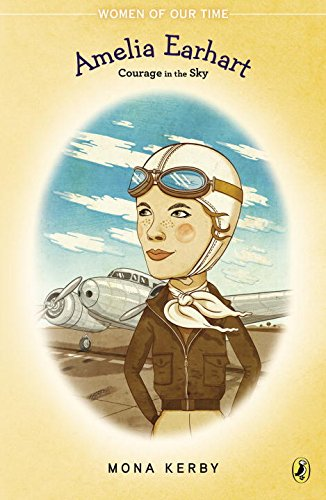 Bìa sách Amelia Earhart: Courage In The Sky
