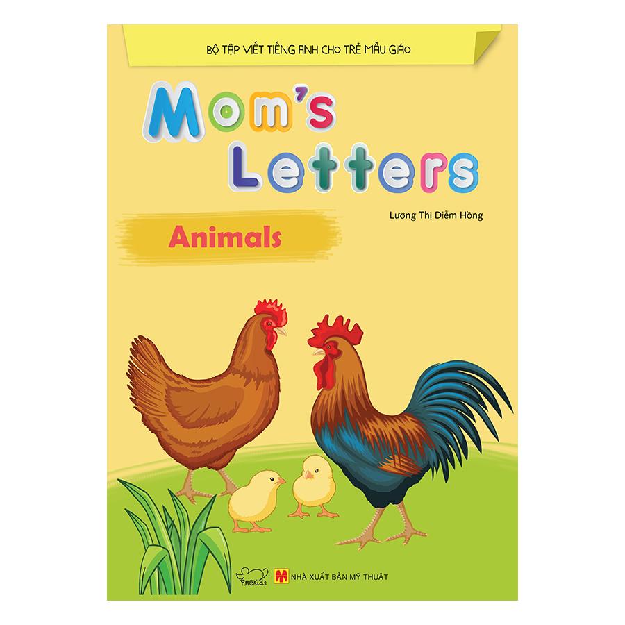Bìa sách Moms Letters: Animals