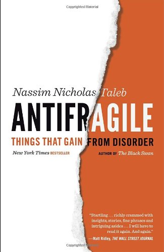 Bìa sách Antifragile: Things That Gain From Disorder - Paperback