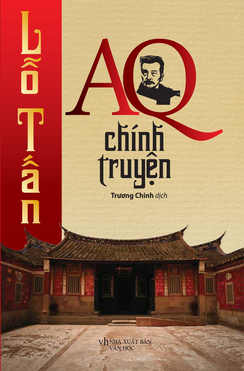 Bìa sách AQ Chính Truyện (Trí Việt)