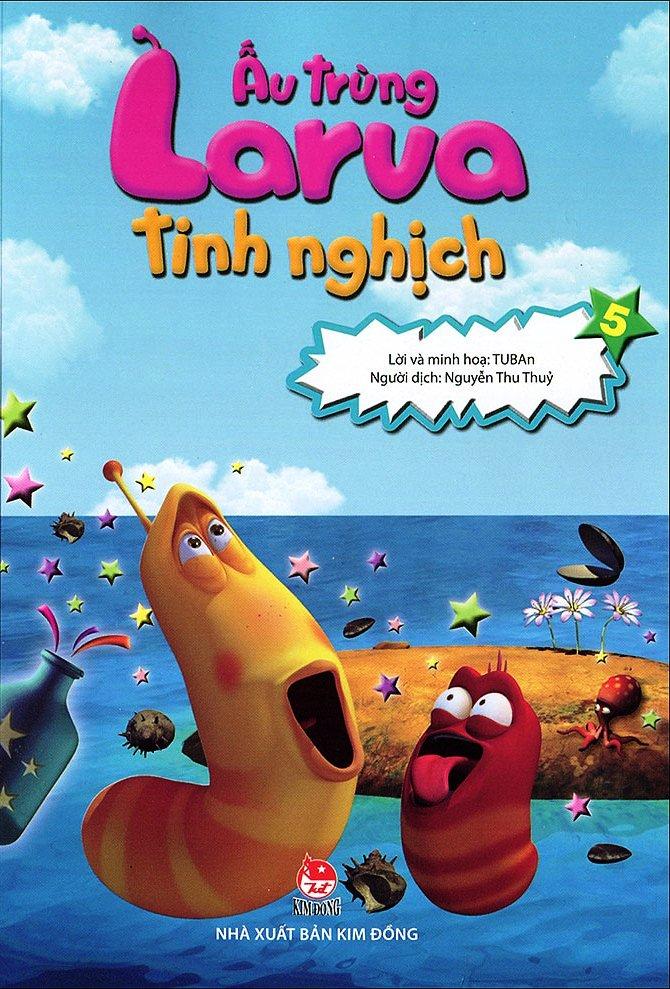 Bìa sách Ấu Trùng Larva Tinh Nghịch (Tập 5)