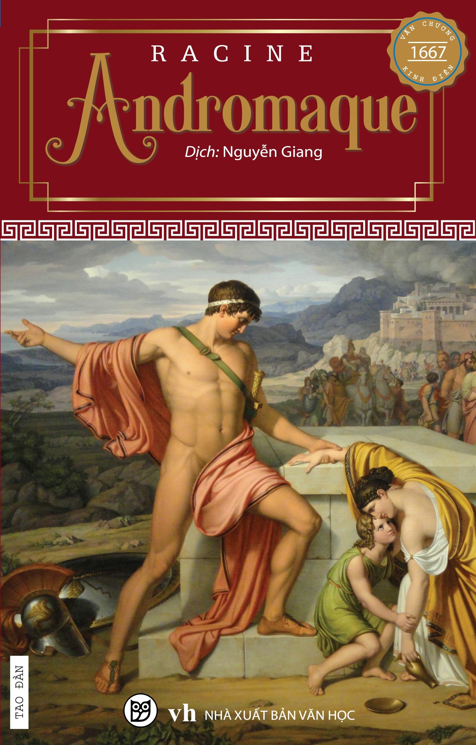 Bìa sách Andromaque