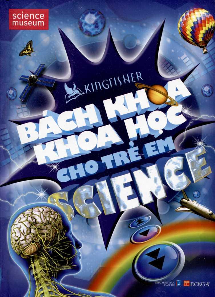 Bìa sách Bách Khoa Khoa Học Cho Trẻ Em