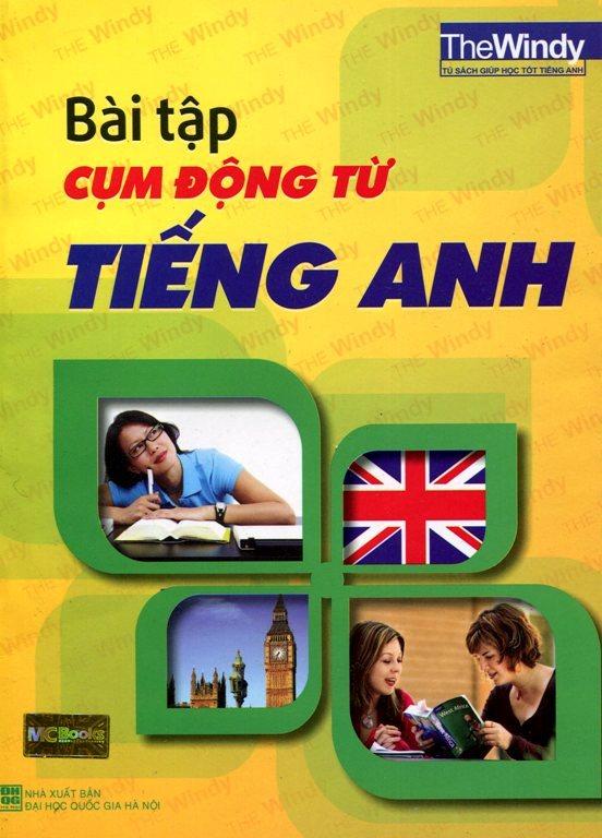Bìa sách Bài Tập Cụm Động Từ Tiếng Anh