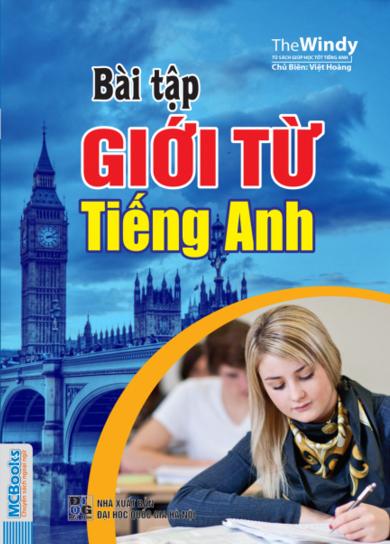 Bìa sách Bài Tập Giới Từ Tiếng Anh (Tái Bản 2016)