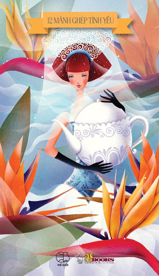 Bìa sách 12 Mảnh Ghép Tình Yêu - Bảo Bình