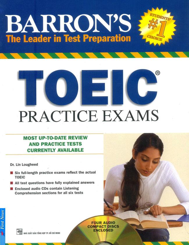 Bìa sách Barrons Toeic Practice Exams (Không Kèm CD)