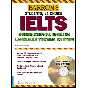 Bìa sách Barrons IELTS International English (Kèm 2CD) - Tái Bản