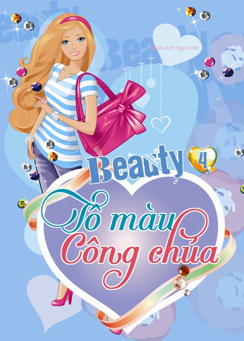 Bìa sách Beauty - Tô Màu Công Chúa (Tập 4)
