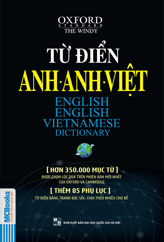 Bìa sách Từ Điển Anh - Anh - Việt (Hơn 350.000 Mục Từ)