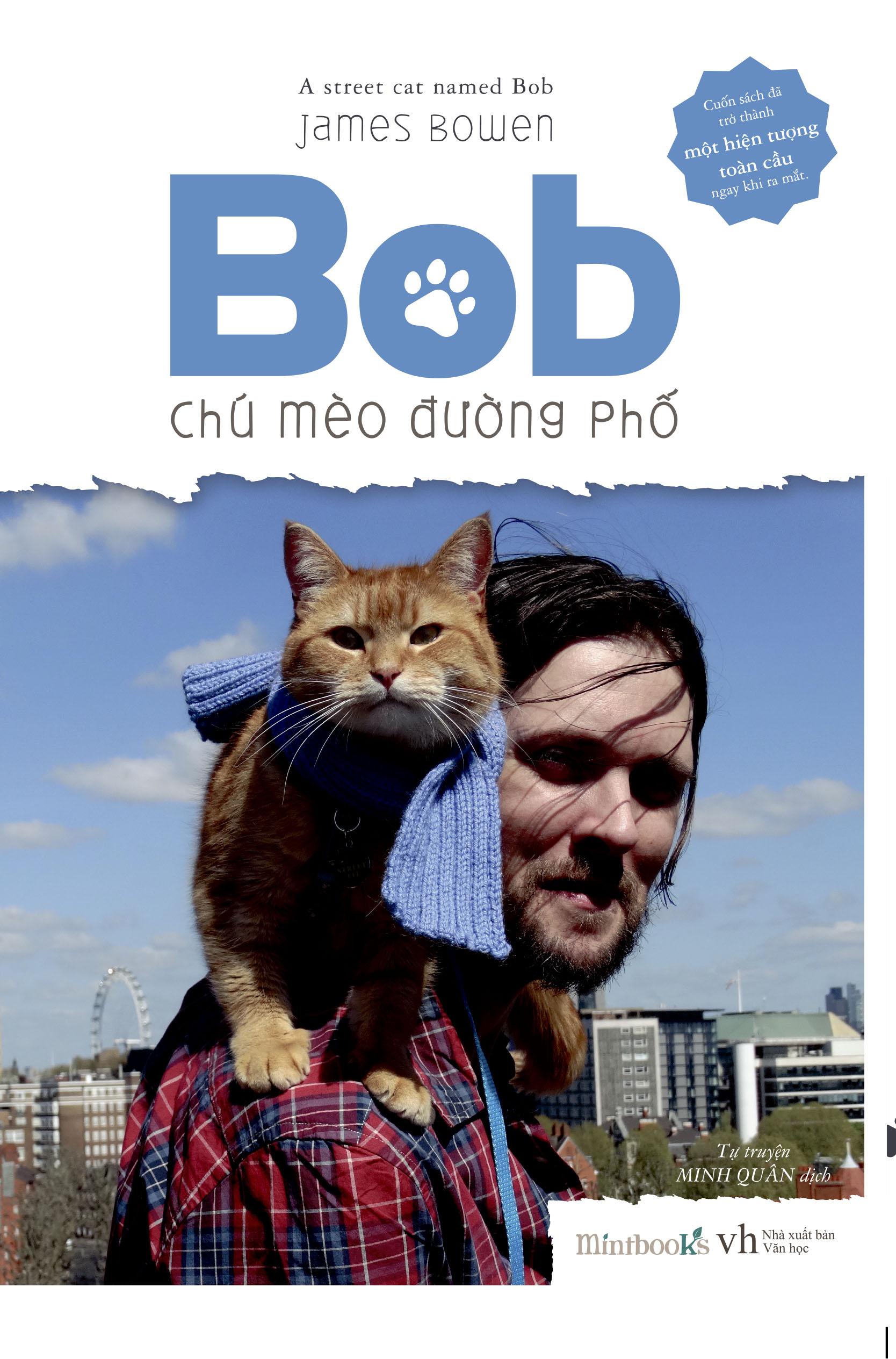 Bìa sách Bob - Chú Mèo Đường Phố