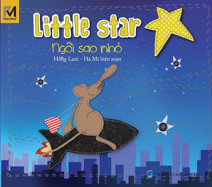 Bìa sách Ngôi Sao Nhỏ - Little Star (Song Ngữ Việt - Anh)