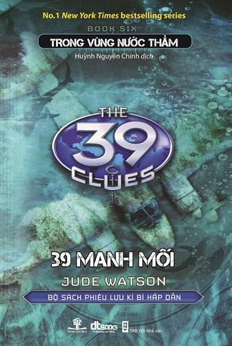 Bìa sách 39 Manh Mối - Phần 6: Trong Vùng Nước Thẳm