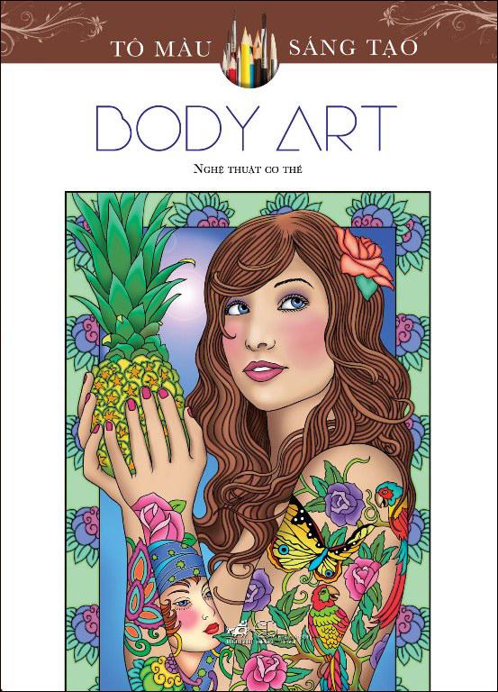 Bìa sách Tô Màu Sáng Tạo - Body Art