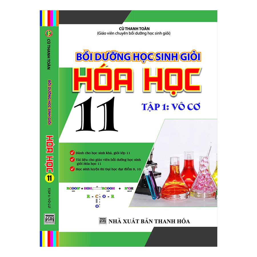Bồi Dưỡng Học Sinh Giỏi Hóa Học 11 (Tập 1 – Vô Cơ)