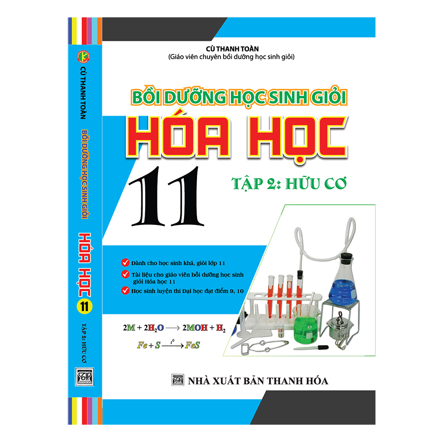 Bồi Dưỡng Học Sinh Giỏi Hóa Học 11 (Tập 2 – Hữu Cơ)