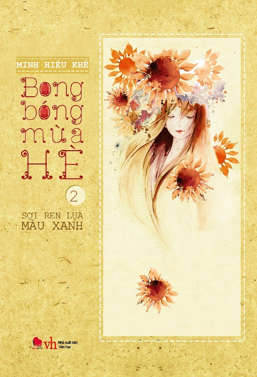 Bìa sách Bong Bóng Mùa Hè (Tập 2) - Sợi Ren Lụa Màu Xanh