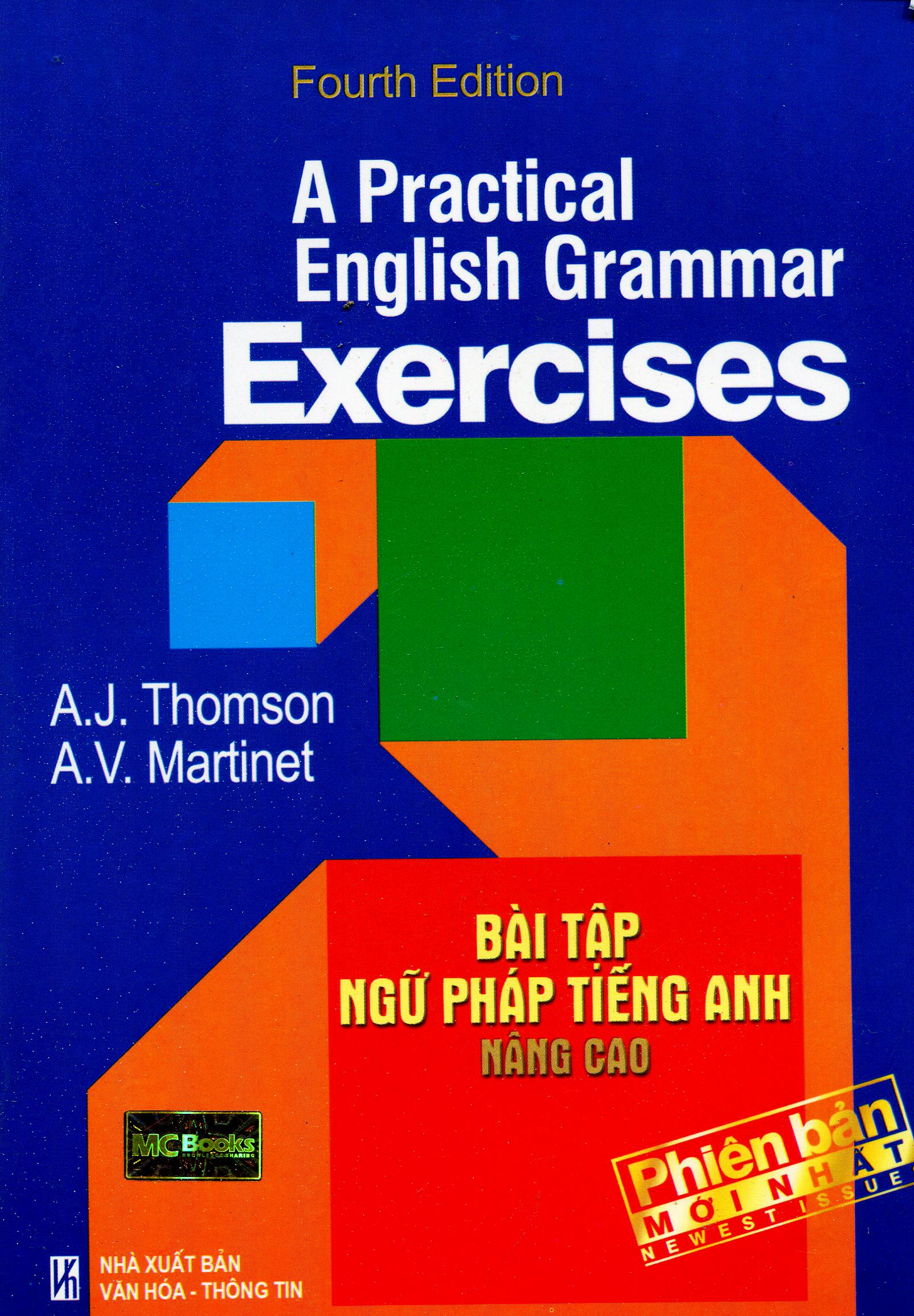 Bìa sách A Practical English Grammar Exercises