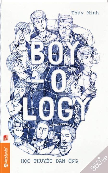 Bìa sách Boy - Ology - Học Thuyết Đàn Ông
