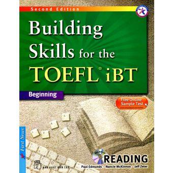 Bìa sách Building Skills For The Toefl IBT - Reading - Kèm CD