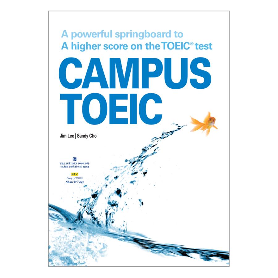 Bìa sách Campus Toeic (Kèm CD MP3)