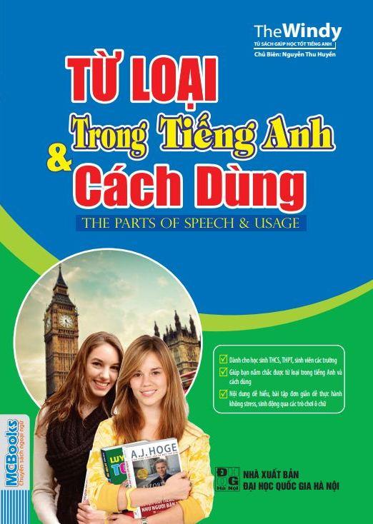 Bìa sách Từ Loại Trong Tiếng Anh Và Cách Dùng (The Part Of Speech  Usage)