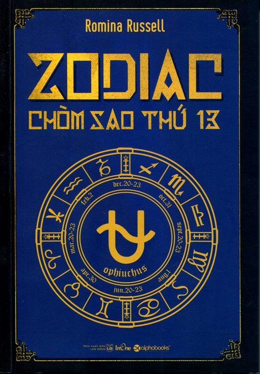 Bìa sách Zodiac - Chòm Sao Thứ 13