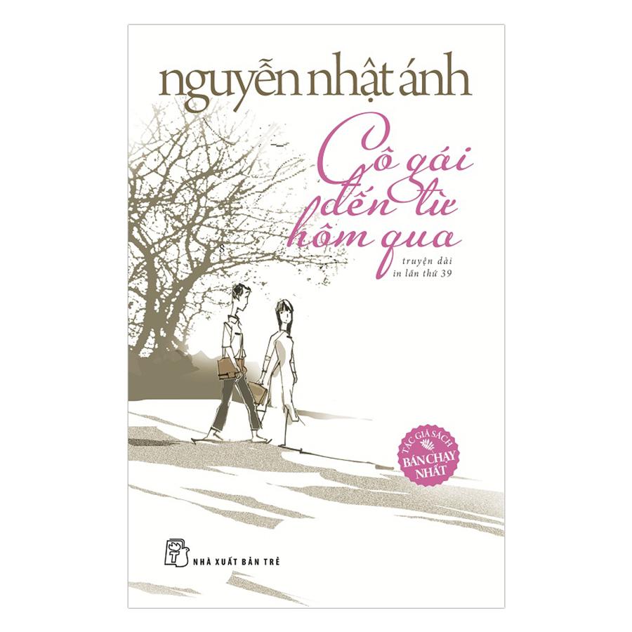 Bìa sách Cô Gái Đến Từ Hôm Qua