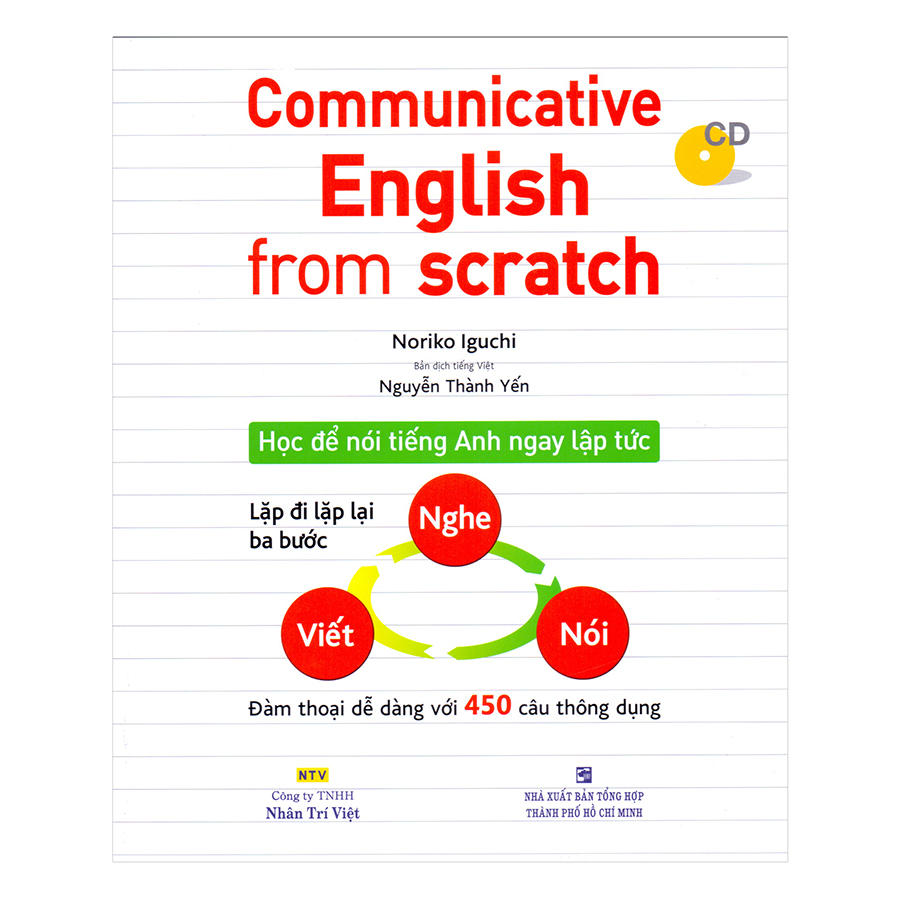 Bìa sách Communicative English From Scratch (Kèm CD)