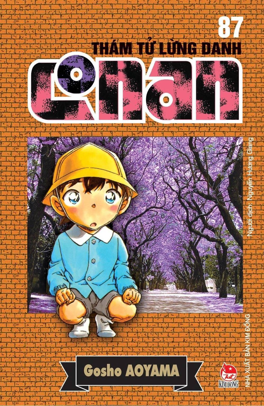 Bìa sách Thám Tử Lừng Danh Conan (Tập 87)
