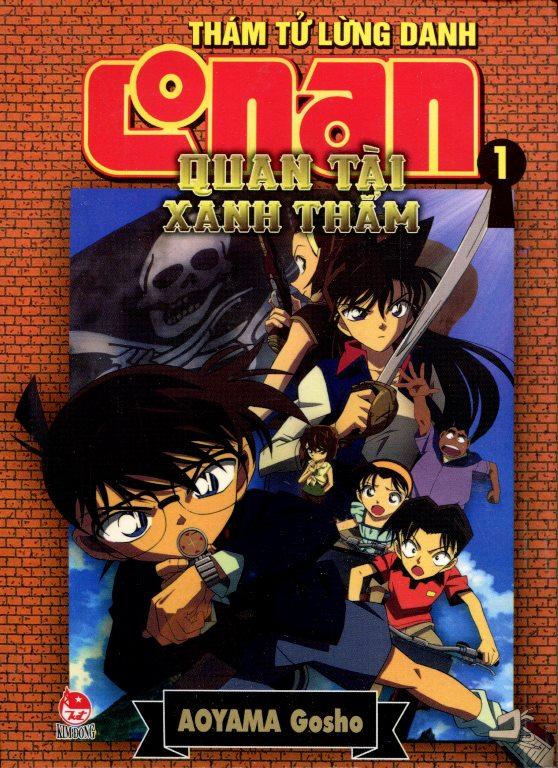 Bìa sách Thám Tử Lừng Danh Conan (Tập 1) - Quan Tài Xanh Thẳm