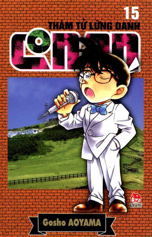 Bìa sách Thám Tử Lừng Danh Conan 15 (Tái Bản 2014)
