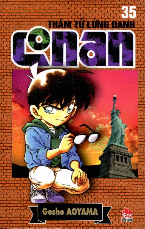 Bìa sách Thám Tử Lừng Danh Conan 35 (Tái Bản 2014)